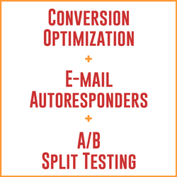 E-mail copywriting and autoresponders, A/B split testing